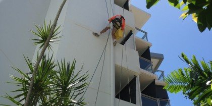 Painting Vision Apartments Cairns.